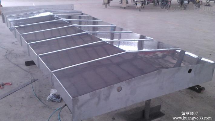 高速运行密封防水钢板防护罩生产厂家