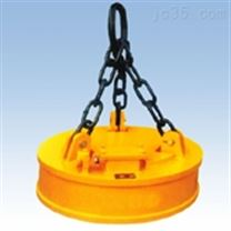 吊运废钢碎铁用圆形起重电磁吸盘