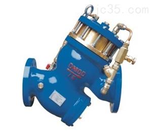 YQ98004型过滤式缓闭止回阀-水利控制阀