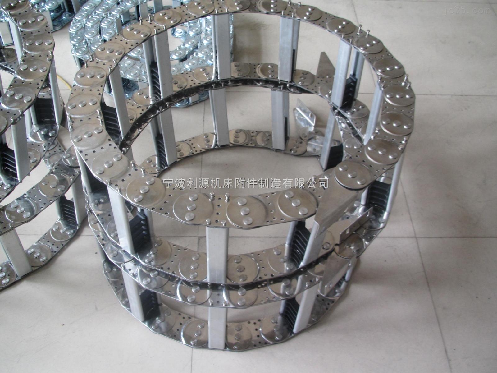 甘肃钢铝穿线拖链强度大支撑力强
