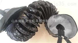 烏魯木齊耐高溫伸縮圓罩 方型伸縮罩 液壓桿保護套