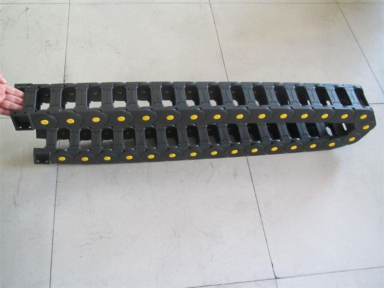 增强耐磨型穿线塑料拖链