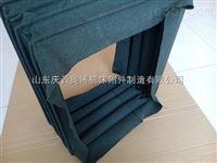 山西帆布伸缩软连接 方型除尘过料软管 帆布除尘管