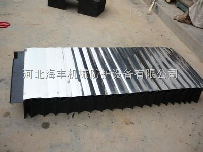 盔甲式数控机床立柱防护罩