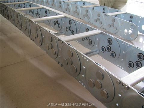 锯床电缆护线钢铝拖链