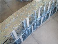 TL125打孔式玻璃机械穿线不锈钢拖链