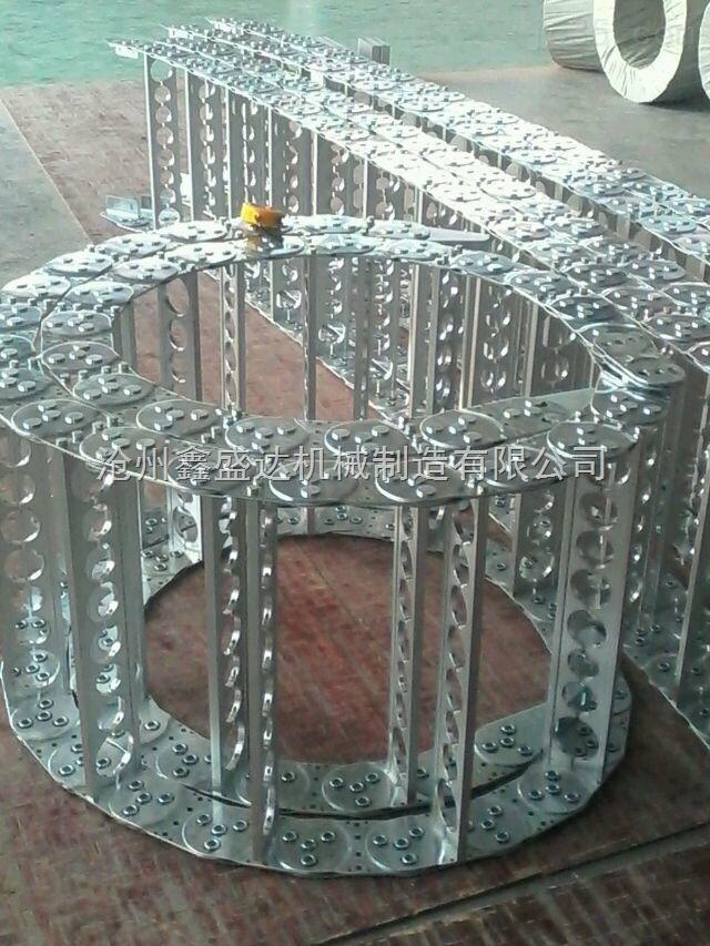 专业定做各种尺寸钢铝电缆拖链尼龙塑料油管电缆拖链