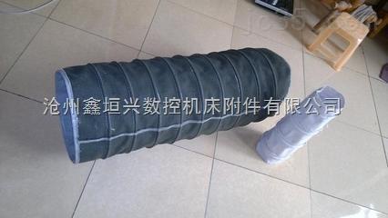 绿色加强耐磨帆布水泥伸缩布袋的特点