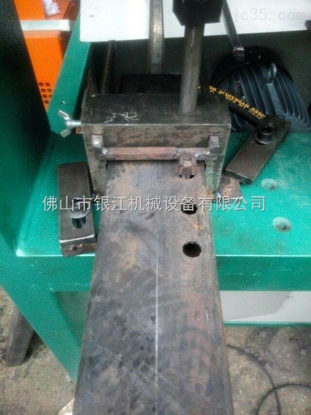 锌钢护栏液压冲孔机