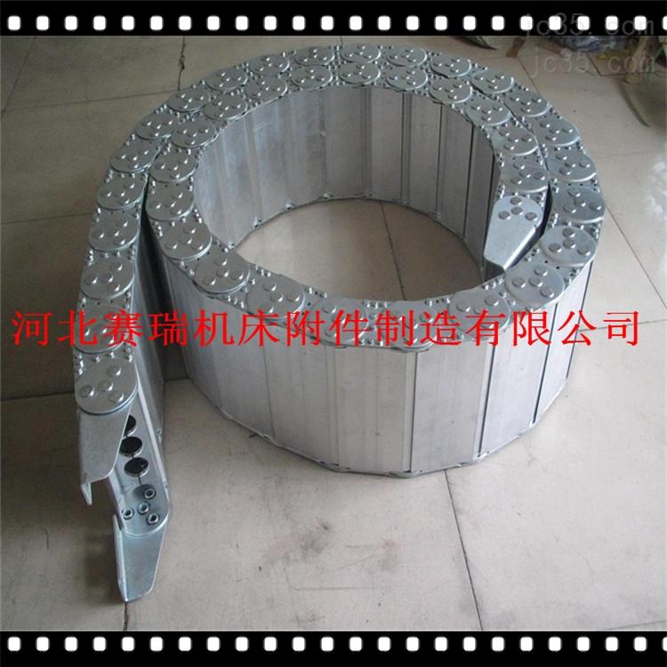 TL型钢铝穿油管拖链