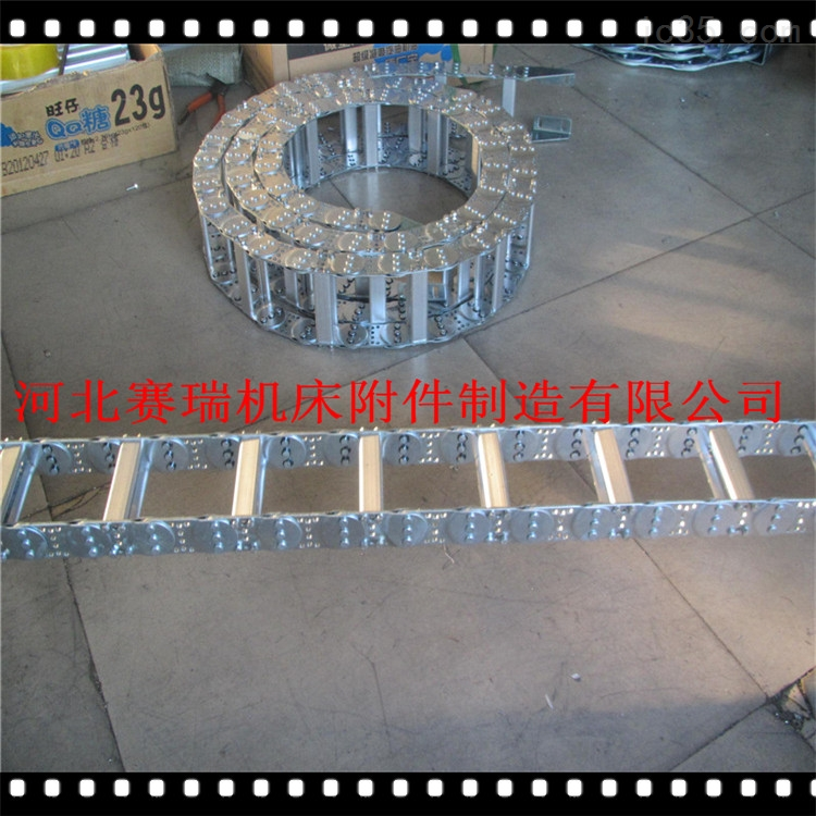 TL不锈钢耐腐蚀拖链桥式拖链厂