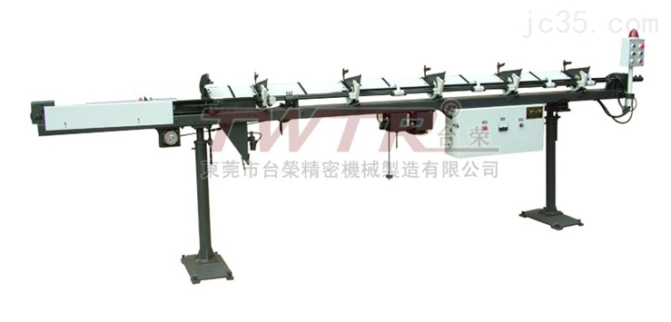 台荣厂家TM0320棒材数控走心、走刀车床送料机 可加长3米