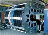 根据要求制作-耐磨消音框架式钢铝拖链 杭雕穿线钢铝拖链厂家