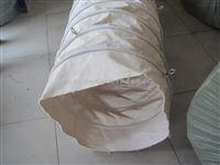 內徑600的散裝機伸縮布袋應用,商丘卸料機用伸縮布筒