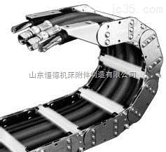坚固耐用的钢制拖链 不下垂 不变形 运行自如 外形美观的钢制拖链