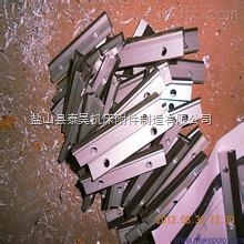 按图纸订做机床导轨刮屑板 直板刮油板车床燕尾式刮屑板