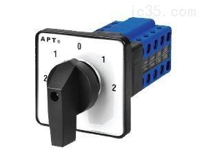 西门子APT一级代理  上海二工LW39-25-4OC-1111/2 BK 万能转换开关