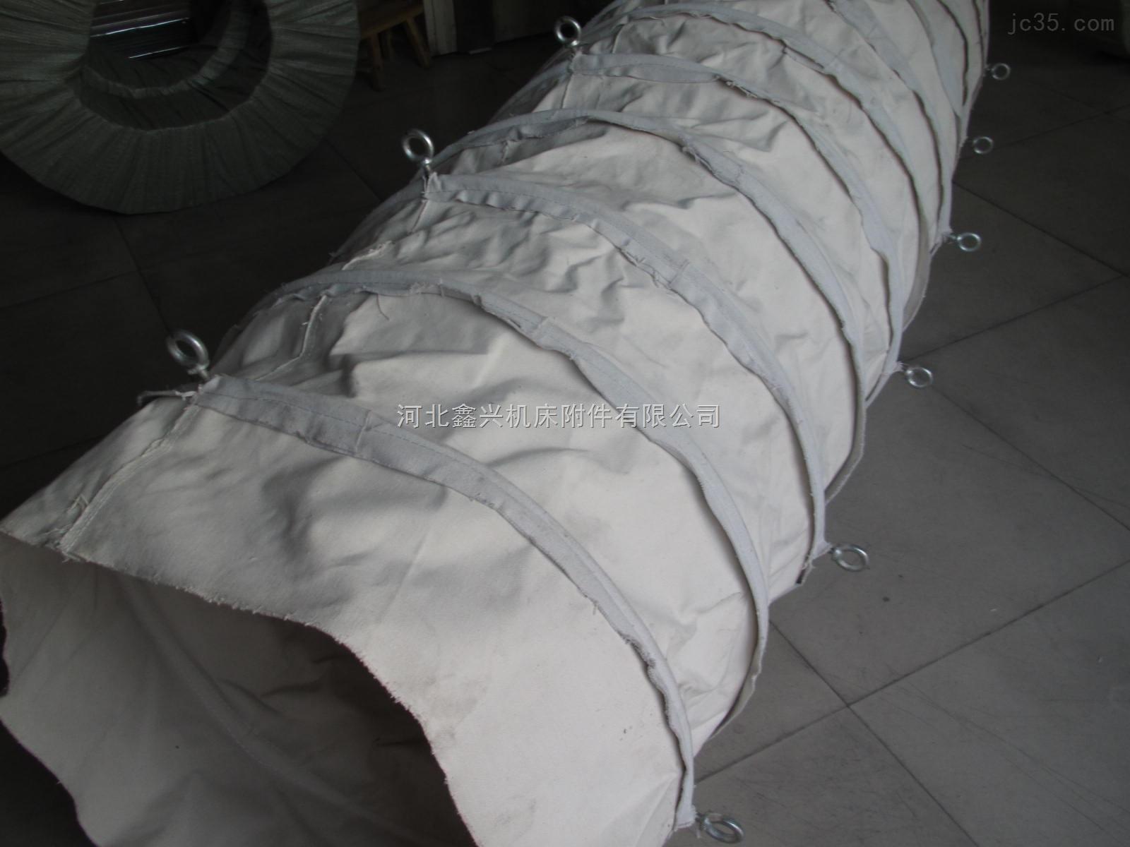 水泥厂吊环式除尘帆布袋
