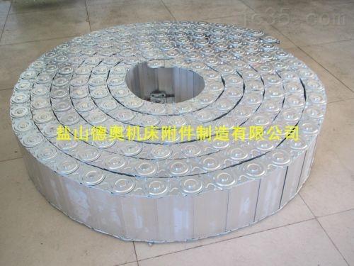 衡水机床护线全封闭式钢制拖链定制厂家