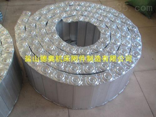 """拖链行王""""工程钻机线缆移动封闭式钢铝拖链""""定制厂家"""