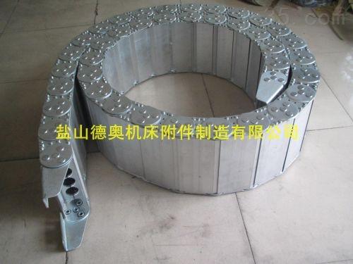 鞍山加强型油管防护钢铝拖链定制厂家