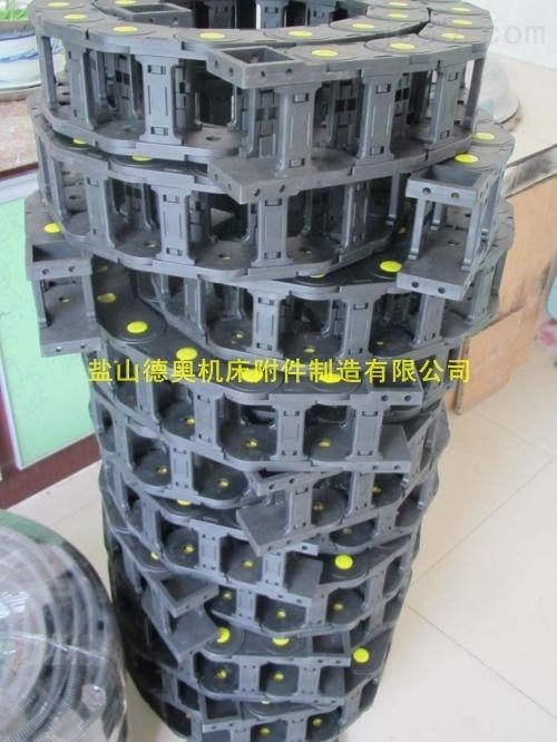 玉林自动移栽机气管工程塑料拖链定制厂家