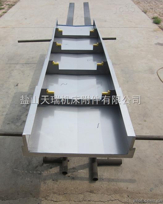 质伸缩式机床钢板拉筋防护罩厂家