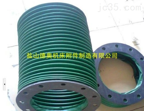 福建硅胶布耐酸碱增强型伸缩通风软连接