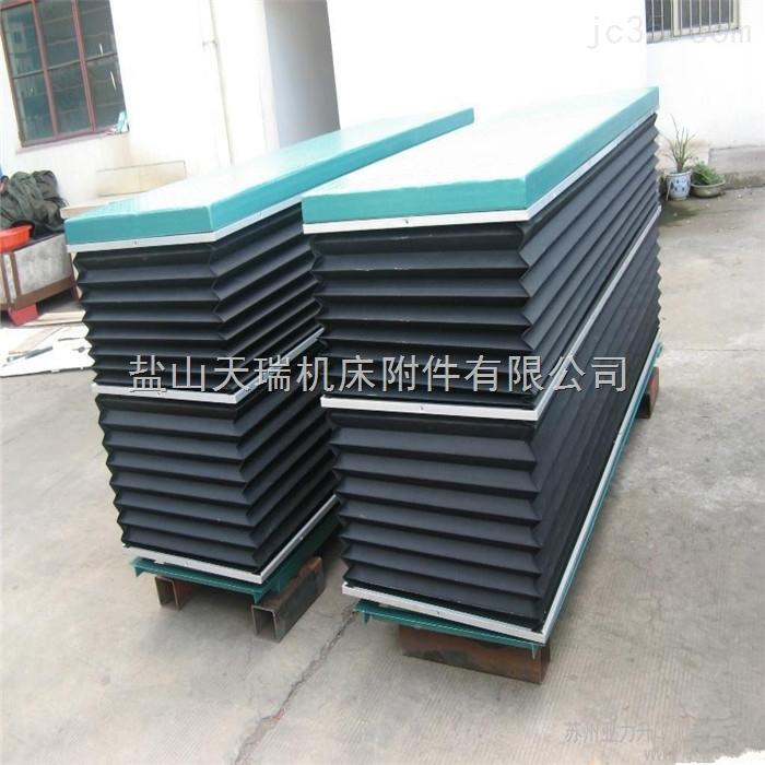升降机平台伸缩式机床防护罩机床附件防尘套厂家