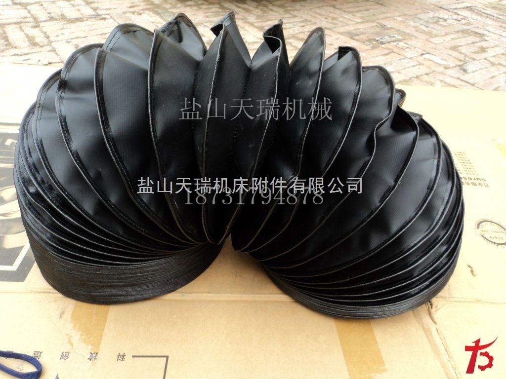 重庆圆型方形无支架缝制丝杠防尘罩防护套