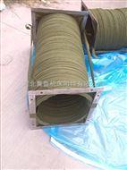 伸缩式耐高温三防布风机软连接