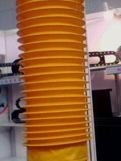 拉链式防护罩 油缸防尘罩