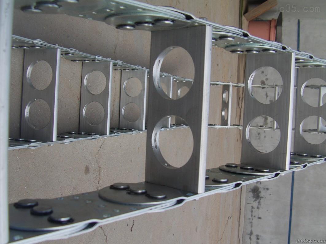 橡胶管保护用桥式钢铝拖链