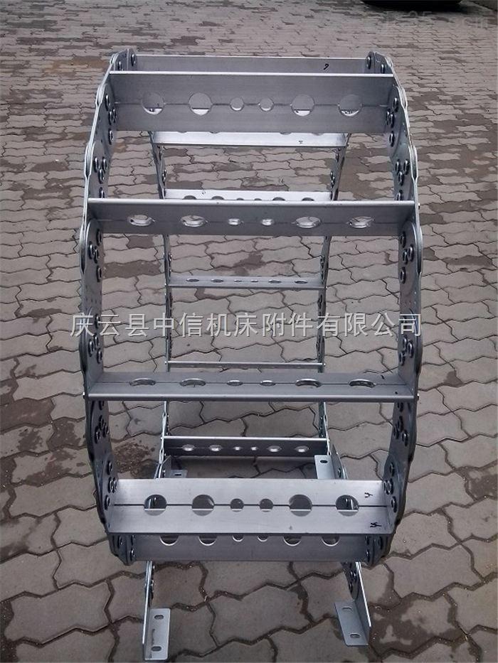 新型TL225穿线钢制拖链厂家
