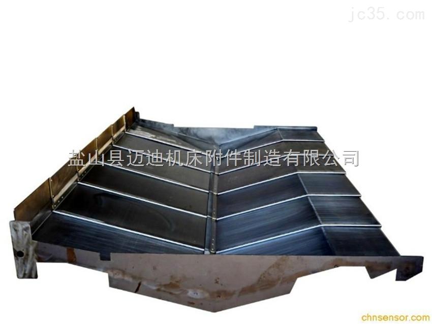 无锡龙门铣床不锈钢板防护罩