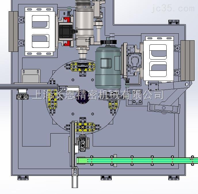 全自动转盘式组合机床-汽车转向器节叉铣外形自动生产线