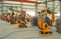 内新型飞机发动机叶片全自动打磨抛光机器人