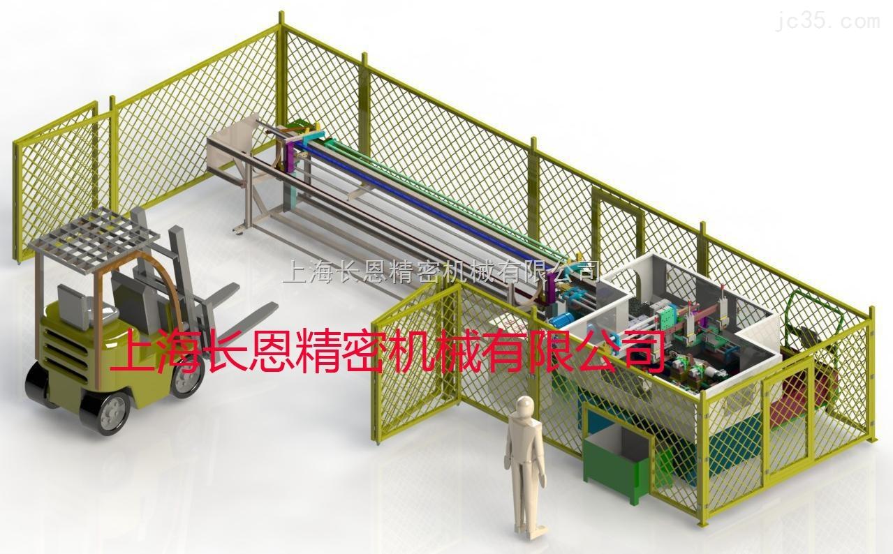 全自动无屑切管机--汽车减震器内管加工生产线