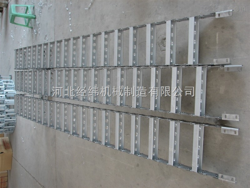 承重型长距离金属拖链 长寿命钢制拖链