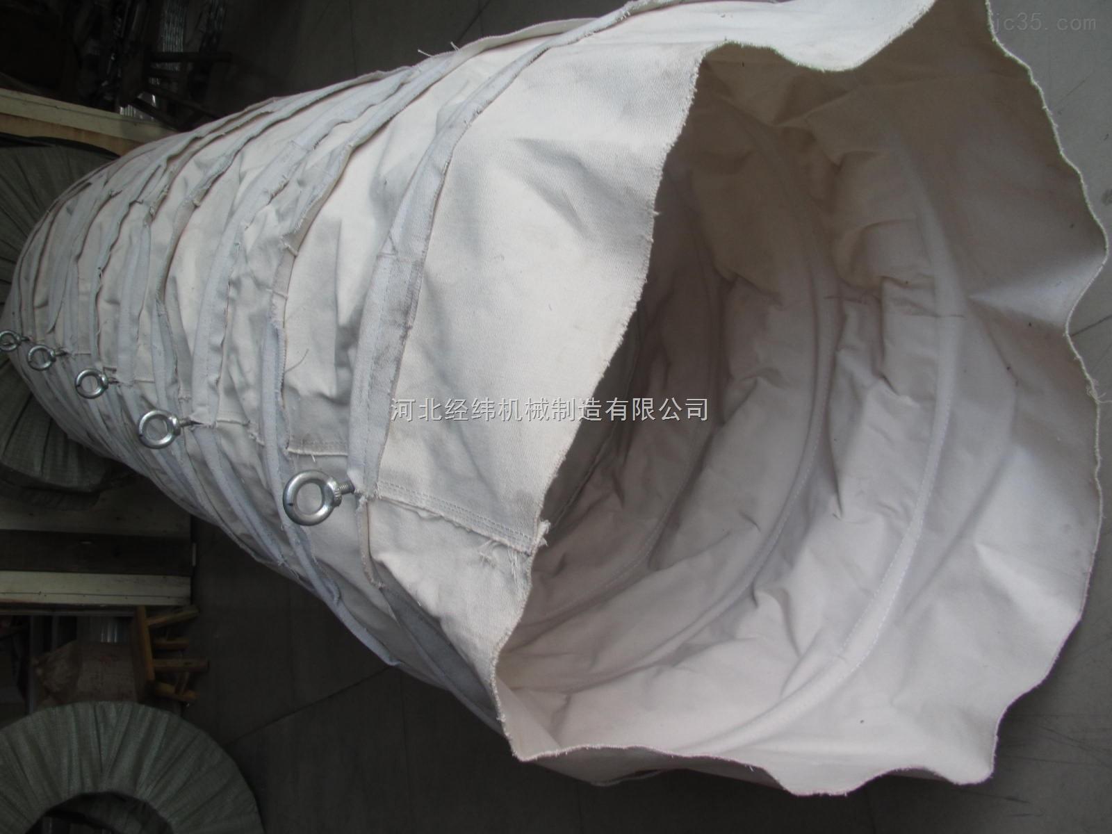 石灰粉输送专用帆布伸缩节