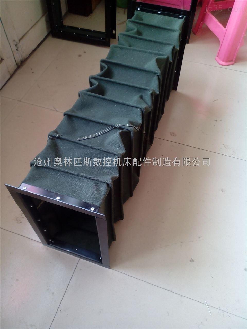 产品库 机床附件 机床附件 软连接 帆布风管伸缩软接头