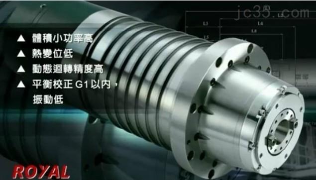 BT40-中国台湾罗翌ROYAL   BT40    10000rpm加工中心主轴