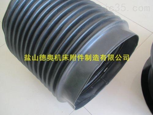 推荐DN280*1200液压机械防漏油圆形伸缩防护罩