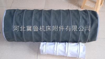 耐磨加厚帆布库底散装机卸料口伸缩布袋软连接水泥厂专用