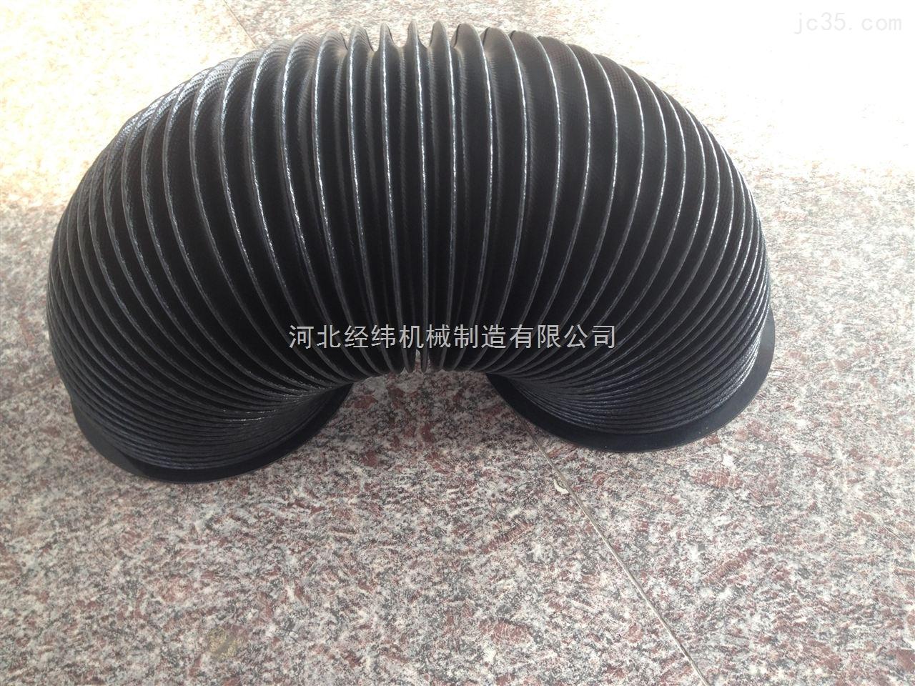 尼龙布材质圆形伸缩防护罩 丝杠保护套