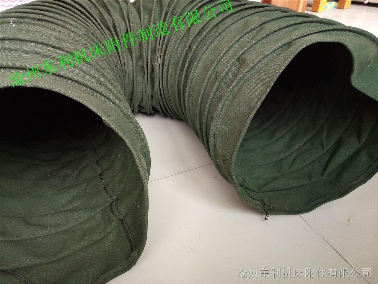 防腐蚀颗粒粉尘帆布软连接热销定做