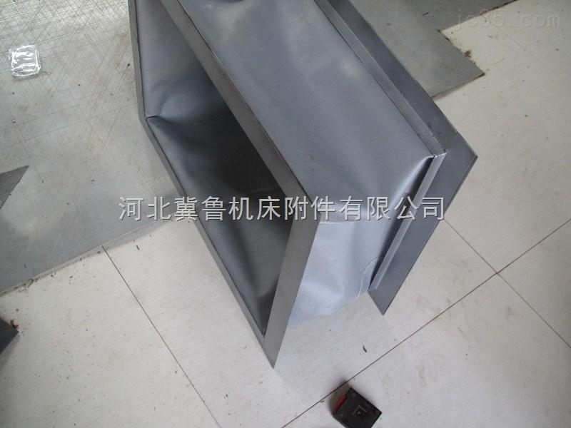 广东机房排烟高密度帆布通风软连接