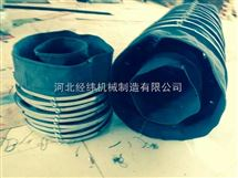 圓形高溫帆布軟連接,帆布伸縮耐磨軟連接