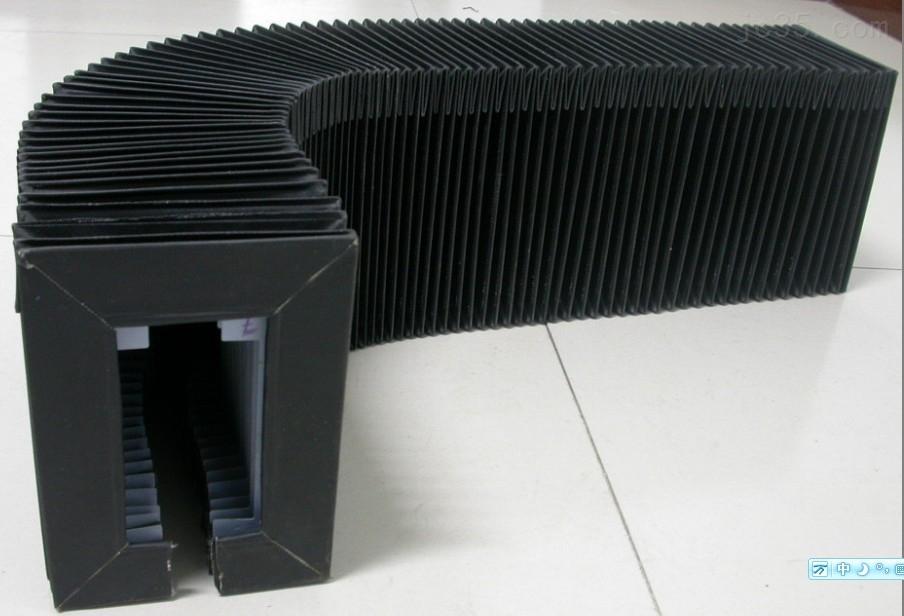 专业定做柔性风琴式机床导轨防护罩