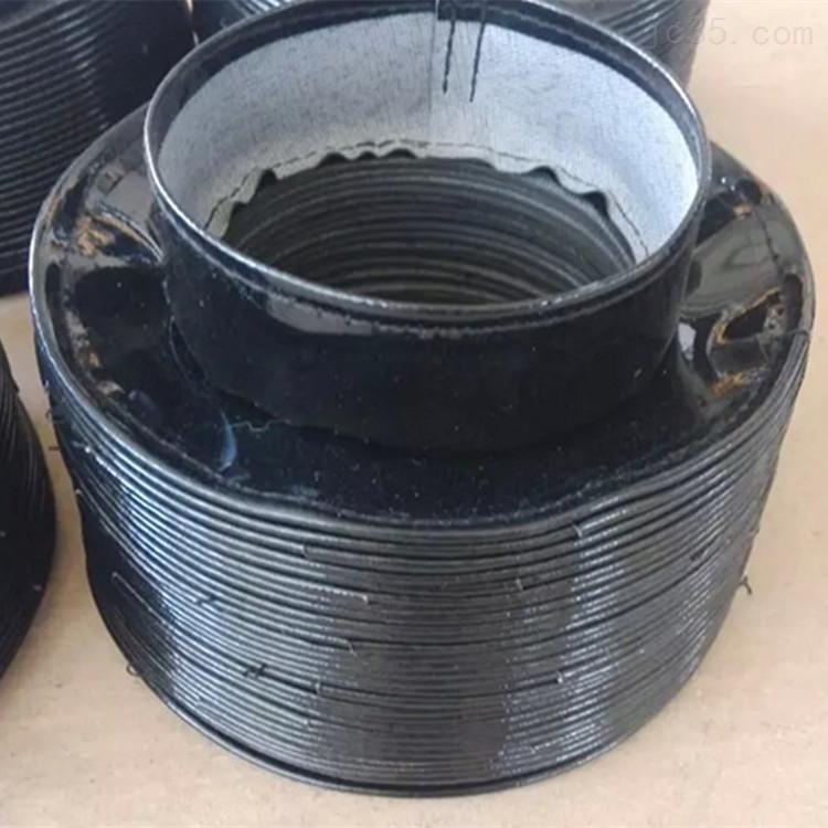 钢圈支撑式橡胶丝杠防护罩